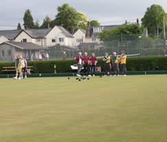 View of llanidloes Bowling Club - Llanidloes Tennis Courts and Llanidloes Croquet Club